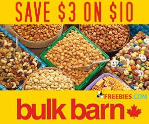 Save $3 at Bulk Barn
