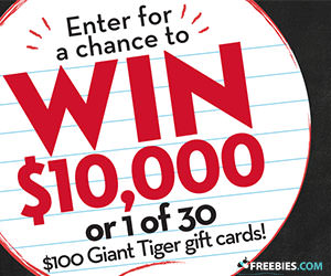 Win $10,000 From Giant Tiger