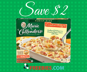 Save $2 on Marie Callender's Meals