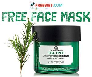 Free Tea Tree Anti-Imperfection Night Mask