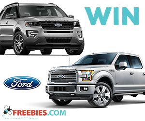 Win $30K to Buy a New Ford Vehicle