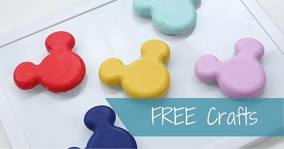 Free Disney Crafts