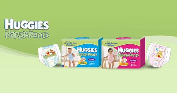 Free Sample of Huggies Nappy-Pants