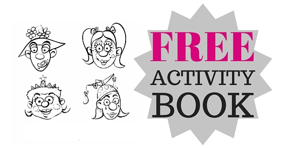Free Downloadable Clown Doctors Activity Book