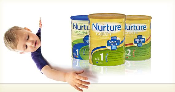 Free Satchet of Nurture Gold Baby Formula