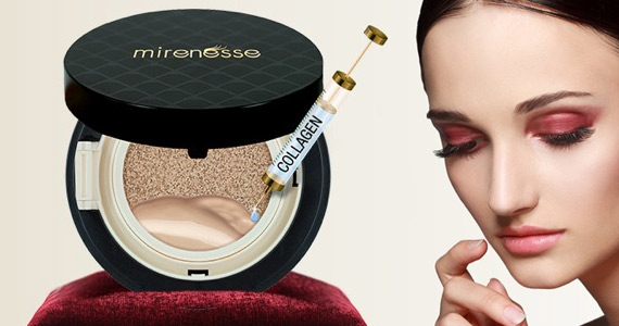 Free Trial of Collagen Cushion Compact Foundation