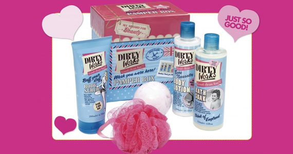 Win a Dirty Works Bath Prize Pack