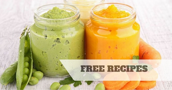 Free Preparing Vegetable Purées For Baby Guide