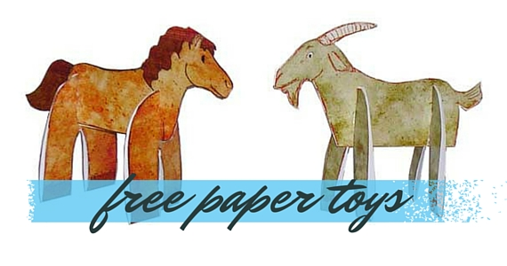 Free Paper Toys