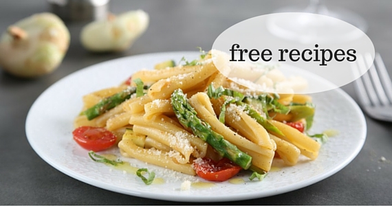 Free Recipes from Barilla