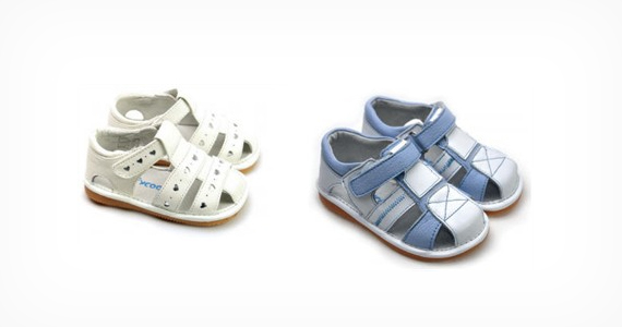 Win 1 of 5 Pairs of Baby Shoes from Two Little Feet