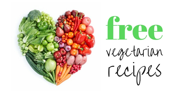 Free Vegetarian Recipe Book