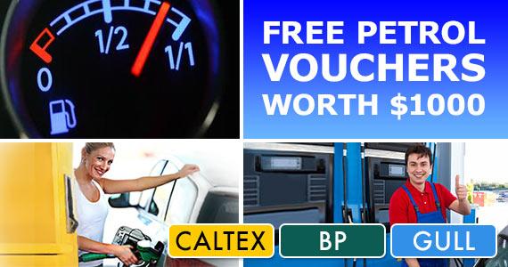 Win Free Petrol Vouchers