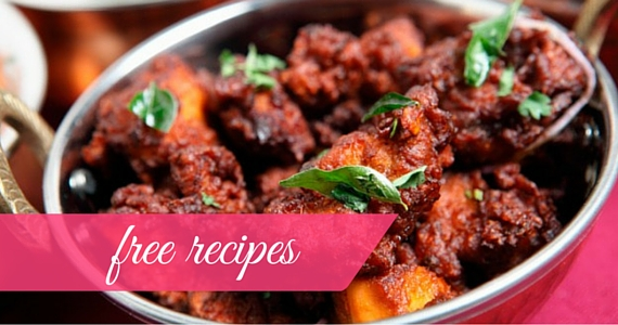 Free Spices of India Recipe Book