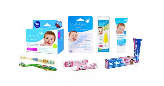 Win 1 of 10 Brush Baby Dental Packs