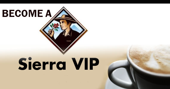 Become a Sierra VIP for Prizes, Vouchers & More