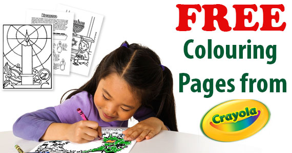 Free Colouring Pages from Crayola