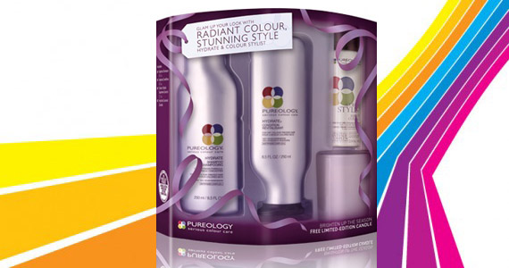 Win 1 of 4 Pureology Haircare Packs