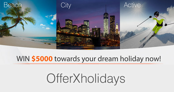 Win A $5,000 Dream Holiday