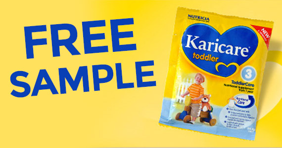 Free Karicare Toddler Nutritional Supplement Sample