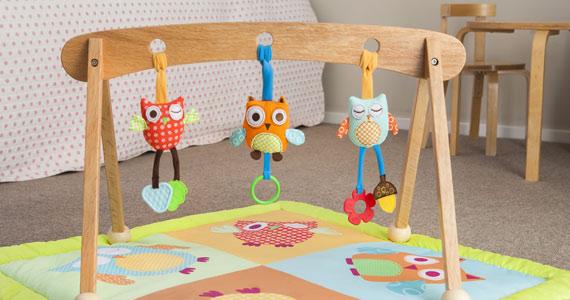 Win a Mocka Wooden Playgym & Playmat Set