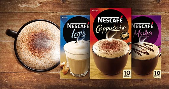 Free Sample of Nescafé Coffee