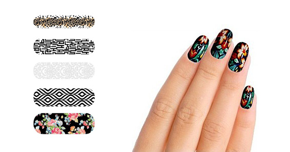 Free Sample of Nail Wraps