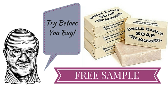 Free Sample of Uncle Earl's Soap