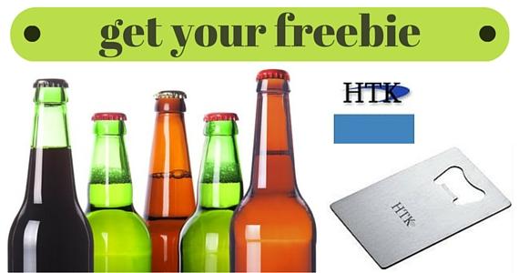 Free HiTech Bottle Opener