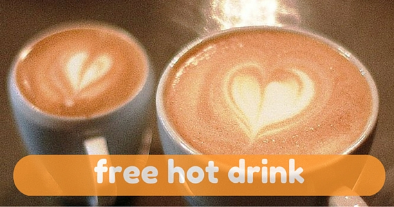 Free Hot Drink
