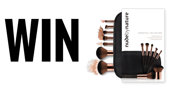 Win Nude By Nature Brushes