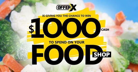 Win $1000 to Spend on Food