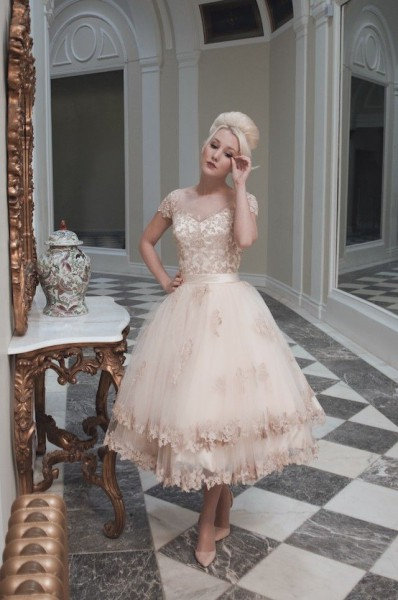 House-of-Mooshki-blush-tea-length-wedding-dress