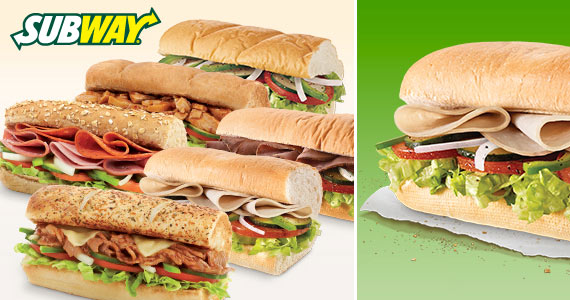 Join the Subway Club for Free Sandwiches
