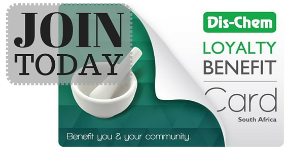 Get Rewards With Dis-Chem Loyalty Benefit Card