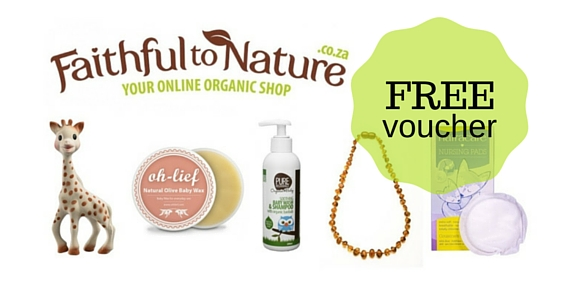 FREE Faithful to Nature Voucher