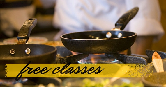 Enjoy Free Cooking Masterclasses Online