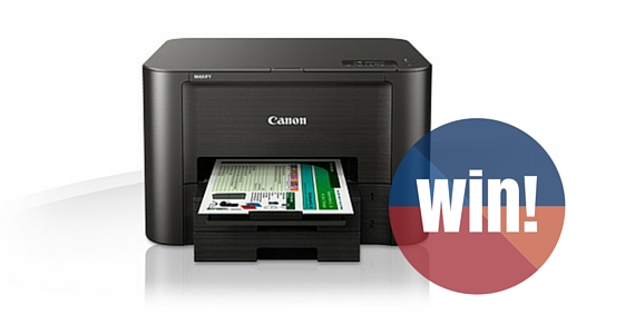 Win 1 of 6 Canon Maxify Printers