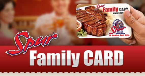 Get a Spur Family Card For Rewards