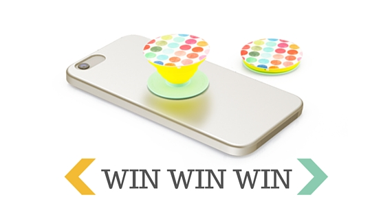 Win 1 of 10 Popsockets