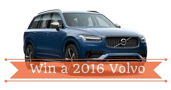 Win a 2016 Volvo