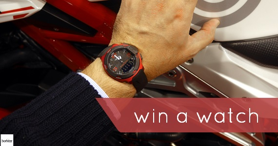 Win a Tissot T-Race Watch