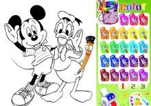 Juegos de pintar colorear y dibujar