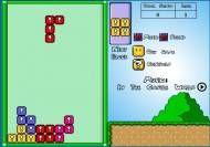 Imagen del juego: Super Mario Tetris