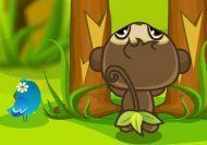 El mono hambriento: Platanos y setas