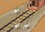 Disparos desde el tren