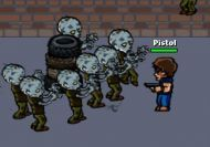 LA avalancha de zombies infinita