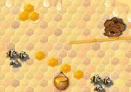 El oso contra la abeja