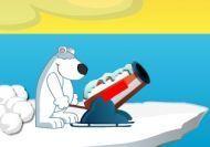 Imagen del juego: Dispara al pingüino