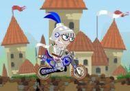 Imagen del juego: El motorista medieval